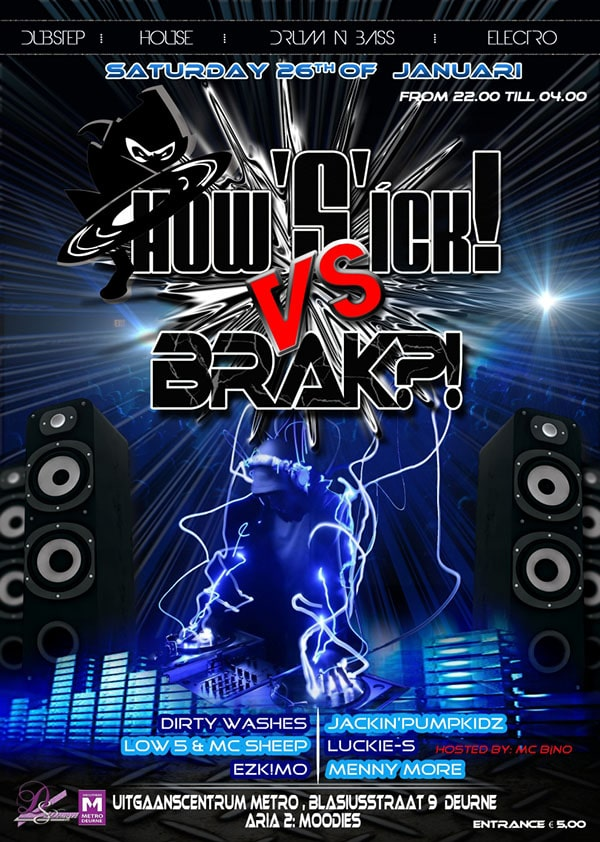 How 'S'ick! vs Brak?!